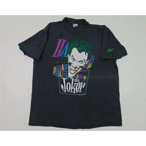 Vintage Stedman L/XL The Joker Batman  Shirt 80s